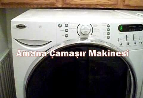 Amana Çamaşır Makinesi Servisi